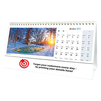 Image of World in View Desk Calendar
