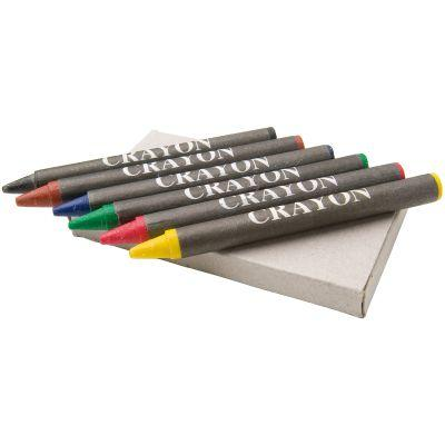 Image of 6 Piece Wax Crayons