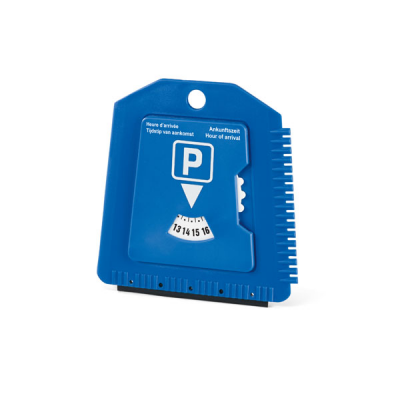 Image of Parking Label With Ice Scraper