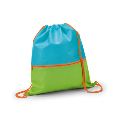 Image of Drawstring Bag With Front Pocket