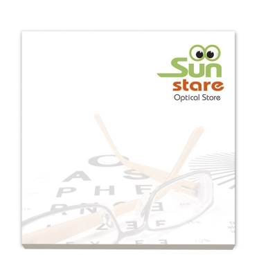 Image of BIC® 75 mm x 75 mm 25 Sheet Recycled Adhesive Notepads