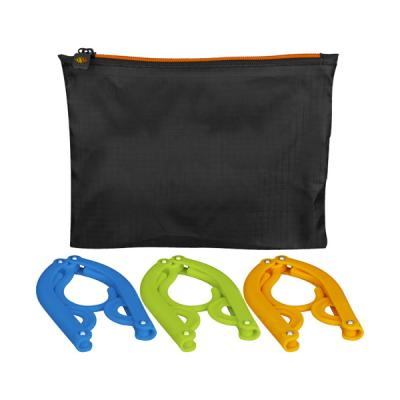 Image of Dover 3-piece foldable hanger set