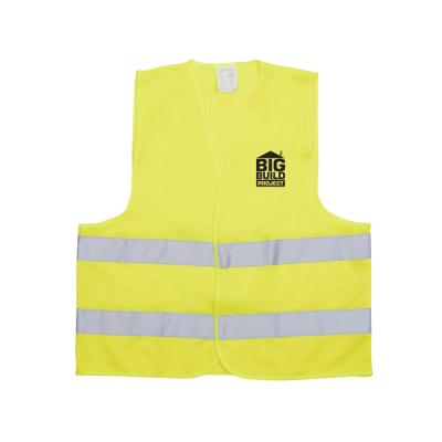 Image of Safety Vest High Visibility Vest With Two Reflective Strips