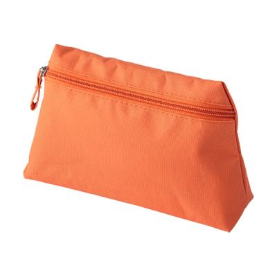 Image of Polyester (600D) toilet bag with matching zipper and puller.