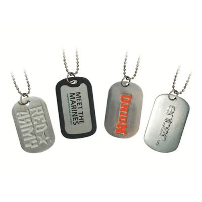 Image of Enamelled Dog Tags