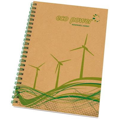 Image of Enviro-Smart A5 Card Cover Wiro Notepad