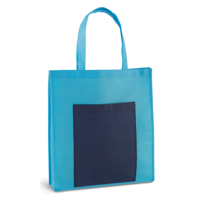 Image of Bag NonWoven Front Pocket 50 Cm Handles