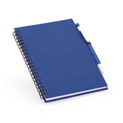 Image of Notepad With Recycled lined Sheets And Ballpen