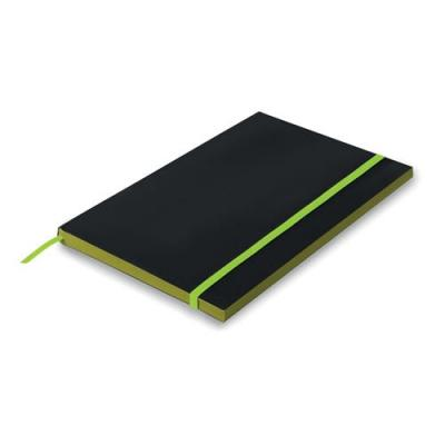 Image of A5 Paper cover notebook lined