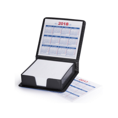 Image of Notepad Holder Calendar Mapel