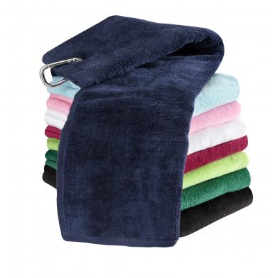 Image of Tri-Fold Velour Golf Towel