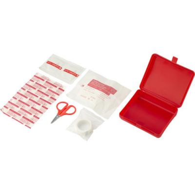 Image of First aid kit in a plastic box, 10pc