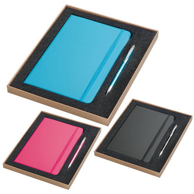 Image of A5 Notebook and Ballpen Set