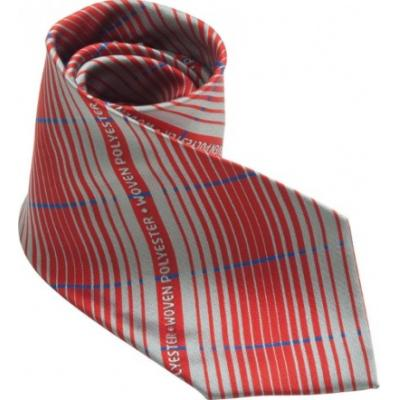 Image of Woven Micro Polyester Tie