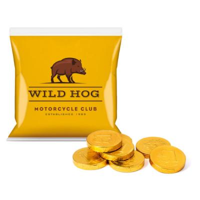Image of Flow Bag Chocolate Coins DP