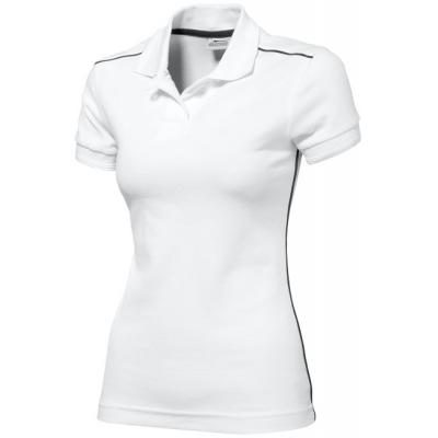 Image of Backhand short sleeve ladies polo
