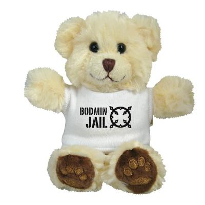 "Image of 5"" Chester Bear with White T Shirt"